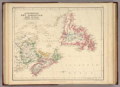 Newfoundland, New Brunswick, Nova Scotia, Cape Breton & Prince Edward Is.
