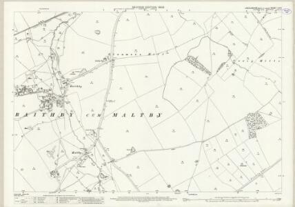 Lincolnshire LVI.5 (includes: Hallington; Louth; Raithby cum Maltby; Tathwell) - 25 Inch Map