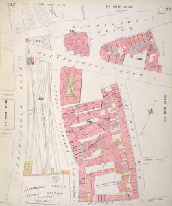 Insurance Plan of London Vol. VI: sheet 127