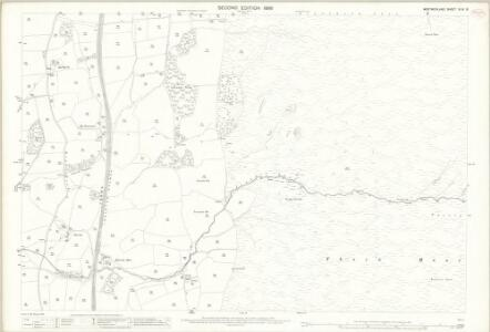 Westmorland XLIV.9 (includes: Barbon; Middleton) - 25 Inch Map