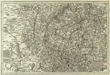 Atlas Topographique et Militaire, Qui comprend les Etats de la Couronne de Boheme la Saxe Electorale avec leurs Frontiers