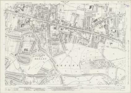 Kent VIII.4 (includes: Bexley) - 25 Inch Map