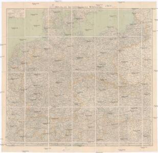 Mittelbach's Automobilkarte von Mitteleuropa