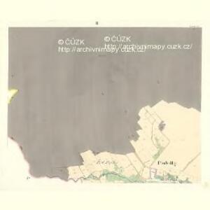 Podolly - m2327-1-002 - Kaiserpflichtexemplar der Landkarten des stabilen Katasters