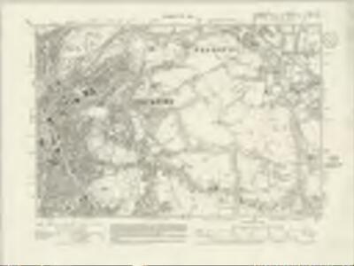 Lancashire CXII.SW - OS Six-Inch Map