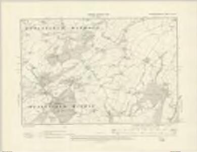 Montgomeryshire XV.SE - OS Six-Inch Map