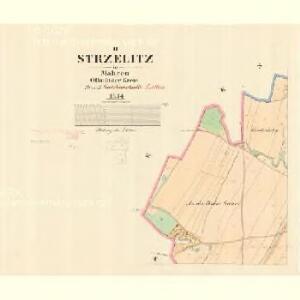 Strzelitz - m2909-1-002 - Kaiserpflichtexemplar der Landkarten des stabilen Katasters