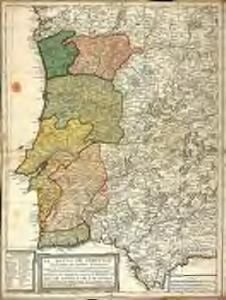 El reyno de Portugal subdividido en muchas provincias