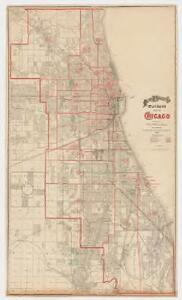 Rand McNally and Co.'s standard map of Chicago