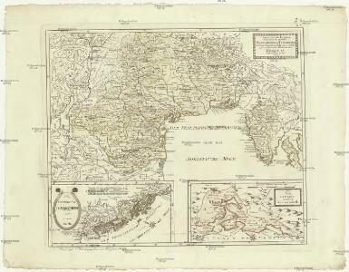 Karte von den Ländern welche durch den zwischen Oesterreich und Frankreich zu Campo Fromido bey Udine den 17 October 1797 geschlossenen Frieden an das Erzhaus abgetreten worden