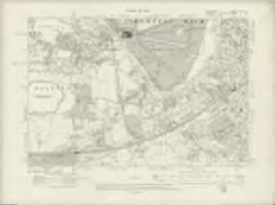 Middlesex XXV.SE - OS Six-Inch Map