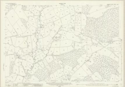 Monmouthshire XXIV.1 (includes: Llanbadog Fawr; Pant Teg) - 25 Inch Map