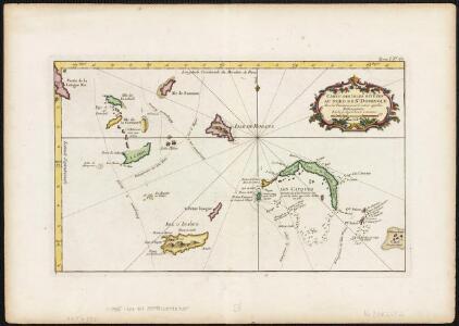 Carte des isles situées au nord de St. Domingue