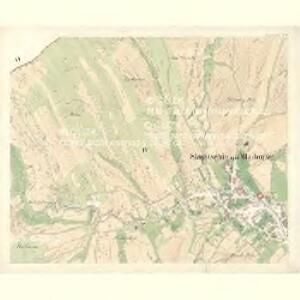Slawitschin und Mladotitz - m2770-2-003 - Kaiserpflichtexemplar der Landkarten des stabilen Katasters