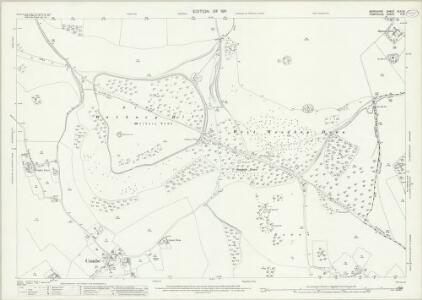 Berkshire XLII.13 (includes: Combe; East Woodhay; Inkpen; West Woodhay) - 25 Inch Map