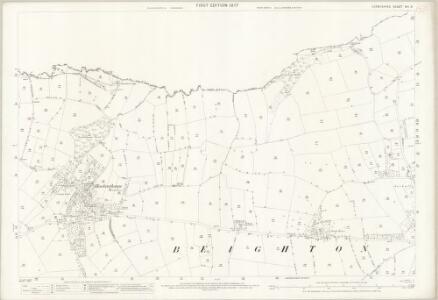 Derbyshire XII.8 (includes: Beighton; Sheffield) - 25 Inch Map