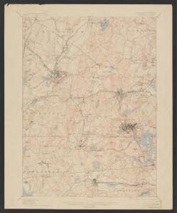Marlboro quadrangle, Massachusetts