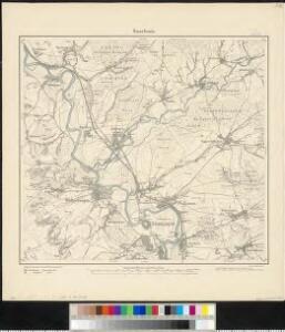 Meßtischblatt 6606 : Saarlouis, 1882
