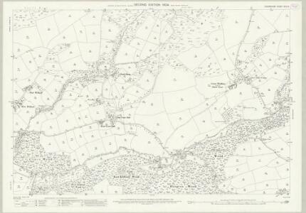 Devon XXIII.9 (includes: Bishops Nympton; Knowstone; Rose Ash) - 25 Inch Map