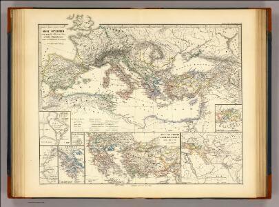 Mare internum cum populis adiacentibus a bello Hannibalico usque ad Mithridatis M. tempus.