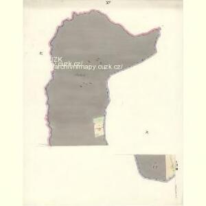 Ostrawitz - m2189-1-012 - Kaiserpflichtexemplar der Landkarten des stabilen Katasters