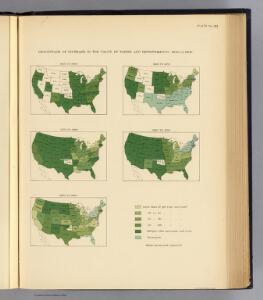 133. Increase value of farms 1850-1900.
