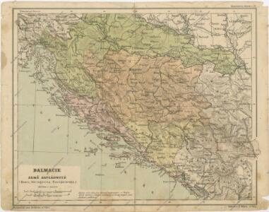 Dalmacie a země zavládnuté