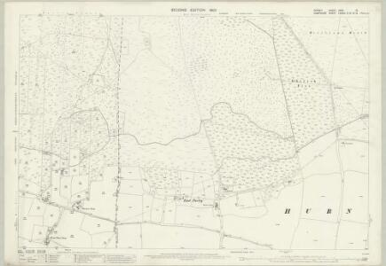 Dorset XXXV.12 (includes: Hurn; West Parley) - 25 Inch Map