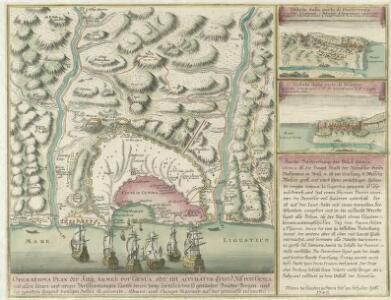 Operations Plan der Kay; Armee vor Genua