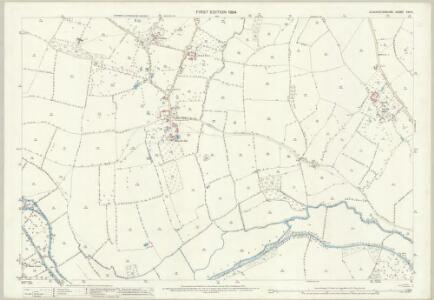 Gloucestershire XXV.5 (includes: Hartpury; Highnam; Maisemore; Rudford) - 25 Inch Map