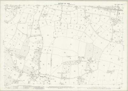 Kent LXII.3 (includes: Marden; Staplehurst) - 25 Inch Map