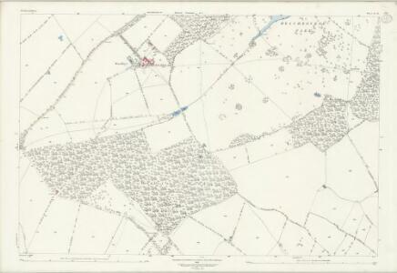Bedfordshire IV.11 (includes: Knotting and Souldrop; Melchbourne and Yelden; Riseley) - 25 Inch Map