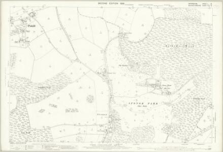 Oxfordshire L.12 (includes: Hambleden; Pishill with Stonor; Turville) - 25 Inch Map