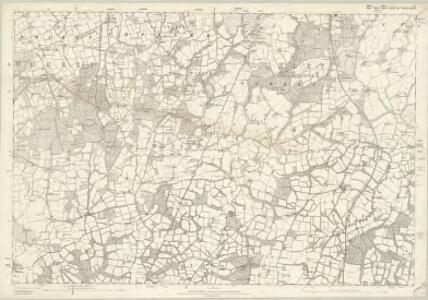 Sussex II - OS Six-Inch Map