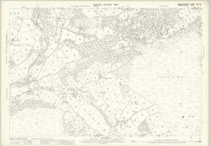Monmouthshire III.15 (includes: Crucornau Fawr; Llandeilo Bertholau; Llanfoist Fawr; Partrishow) - 25 Inch Map
