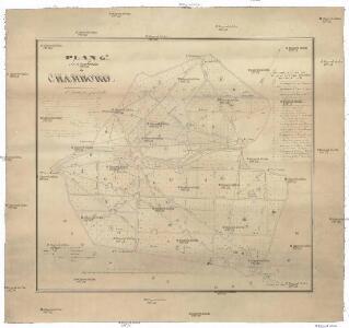 Plan g.al du parc de Chambord