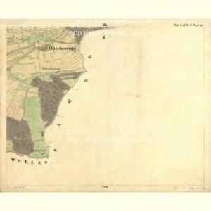 Tischlern - c6969-1-009 - Kaiserpflichtexemplar der Landkarten des stabilen Katasters