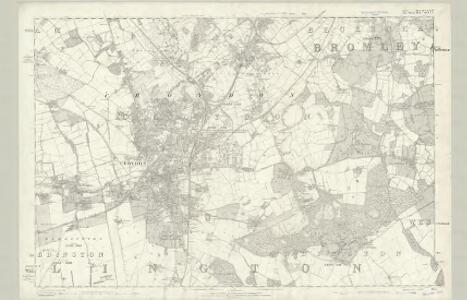 Surrey XIV - OS Six-Inch Map
