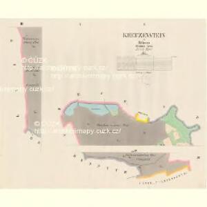 Kreuzenstein - c5890-3-001 - Kaiserpflichtexemplar der Landkarten des stabilen Katasters