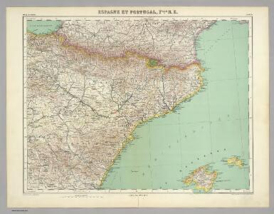 Espagne et Portugal.  Flle. N.E.