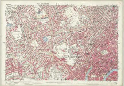 Gloucestershire LXXI.16 (includes: Bristol) - 25 Inch Map