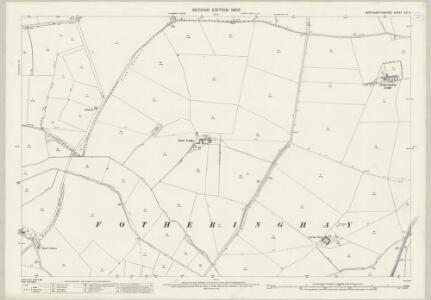 Northamptonshire XIII.6 (includes: Fotheringhay; Nassington; Woodnewton) - 25 Inch Map