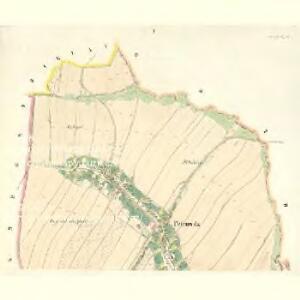 Petrowitz (Pustěgowo) - m2489-1-001 - Kaiserpflichtexemplar der Landkarten des stabilen Katasters