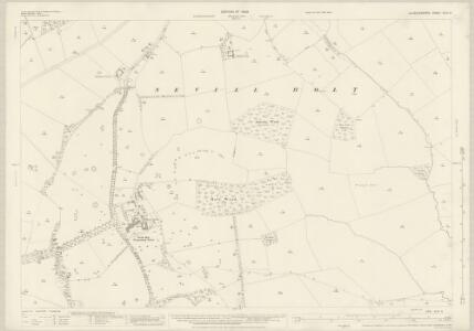 Leicestershire XLVI.8 (includes: Blaston; Drayton; Great Easton; Medbourne; Neville Holt) - 25 Inch Map