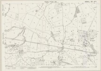Shropshire LXXXIII.5 (includes: Ashford Carbonel; Brimfield; Little Hereford; Richards Castle) - 25 Inch Map