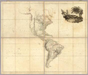 Map of America by A. Arrowsmith.