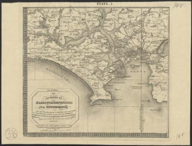 The environs of Plymouth, Devonport and Stonehouse : also the neighborhood of Exeter with the coast and other principal roads [...]