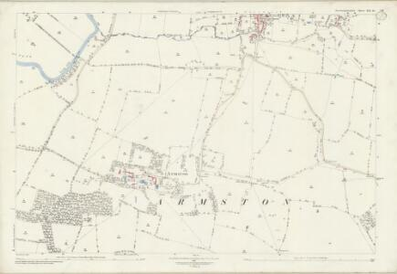 Northamptonshire XIX.10 (includes: Barnwell; Oundle; Polebrook) - 25 Inch Map