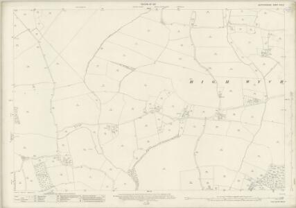 Hertfordshire XXX.8 (includes: Eastwick; High Wych; Much Hadham) - 25 Inch Map