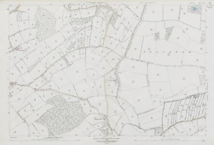 Somerset LII.9 (includes: Ashcott; Sharpham; Walton) - 25 Inch Map